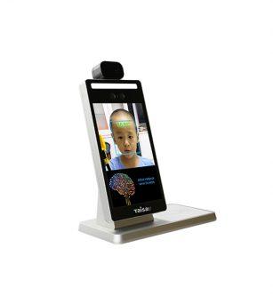 IDC7708T2台式人脸识别测温一体机