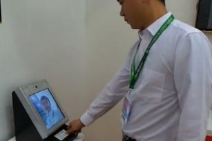 【视频演示】IDC7210身证通人证合一核查系统台式设备: